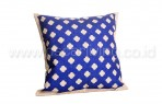 Bantal Sofa Decoration Motif Wajik Light Blue Q1843